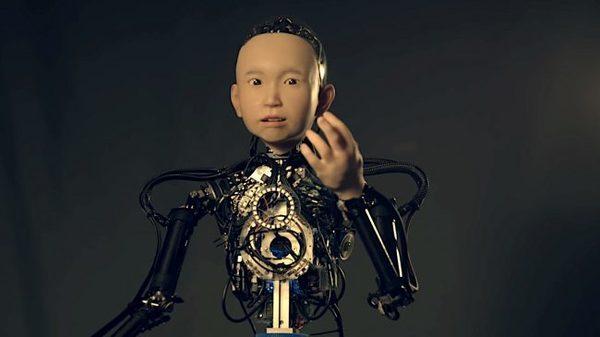 Известный японский робототехник представил свое новое творение