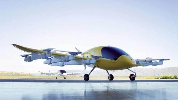 Стартап Kitty Hawk Ларри Пейджа представил свое беспилотное воздушное такси