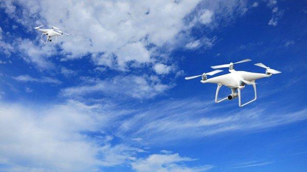 В Пуэрто-Рико чинaт линии электропередач с помощью дронов