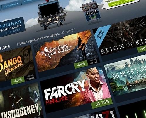 В Steam одновременно находились рекордные 10 млн игроков