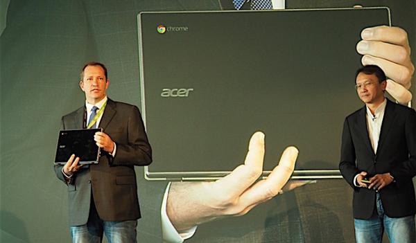 Acer представил новый Chromebook с военным классом защиты