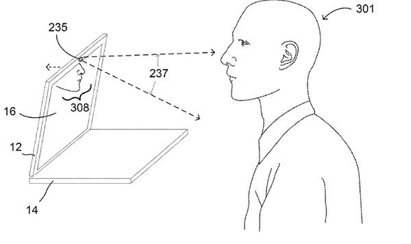 В Google придумали ноутбук с саморегулируемым углом наклона экрана
