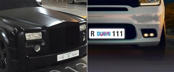 В Дубае протестируют автомобильные цифровые номерные знаки
