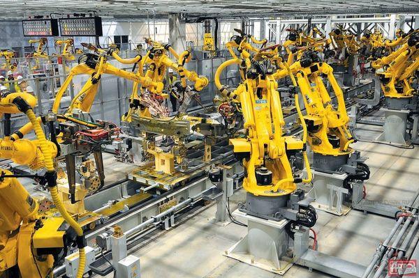 В Китае роботы повысили производительность завода на 250%