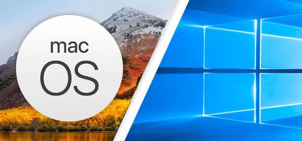 Windows 10 в пять раз популярнее macOS
