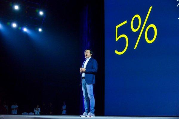 Глава Xiaomi пообещал делиться прибылью с пользователями, если компания заработает больше чем запланировала