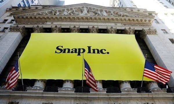 Стоимость акций Snap впервые упала ниже заявленной на IPO