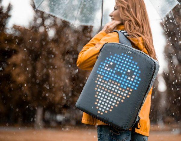 Украинские разработчики создали анимированный рюкзак рюкзак PIX