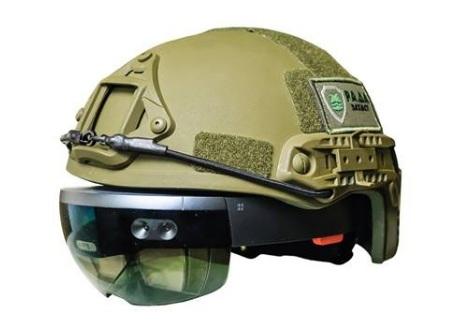 Украинцы разрабатывают AR-шлем, открывающий панорамный обзор местности водителю танка