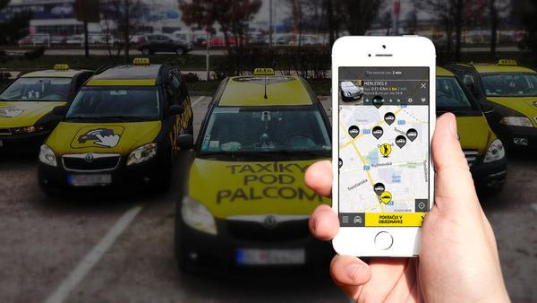 Словацкий такси-сервис HopinTaxi покидает Украину