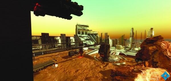 ОАЭ анонсировали проект по строительству мини-города на Марсе