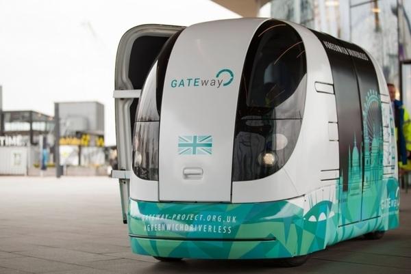 Британцы создают самоуправляемую машину для уборки улиц