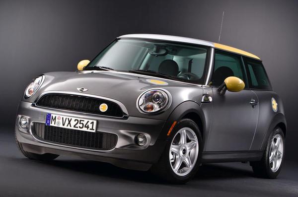 В следующем месяце MINI представит свой первый электромобиль