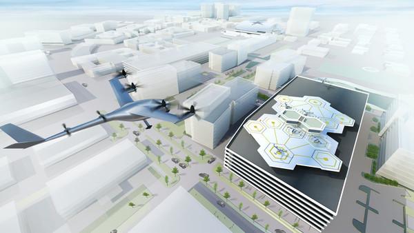 Uber планирует начать испытания «летающих такси» к 2020 году