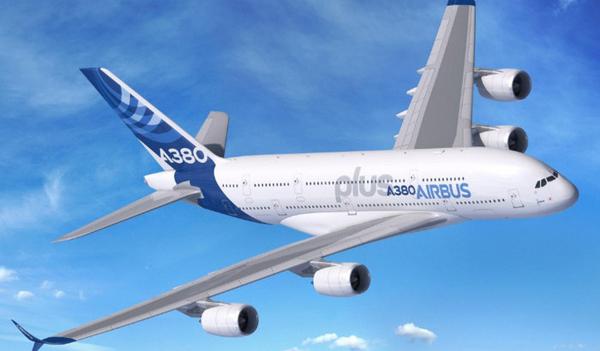 Airbus представила самый большой пассажирский самолет в мире