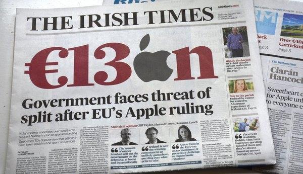 Apple намерена опротестовать решение о взыскании €13 млрд невыплаченных налогов