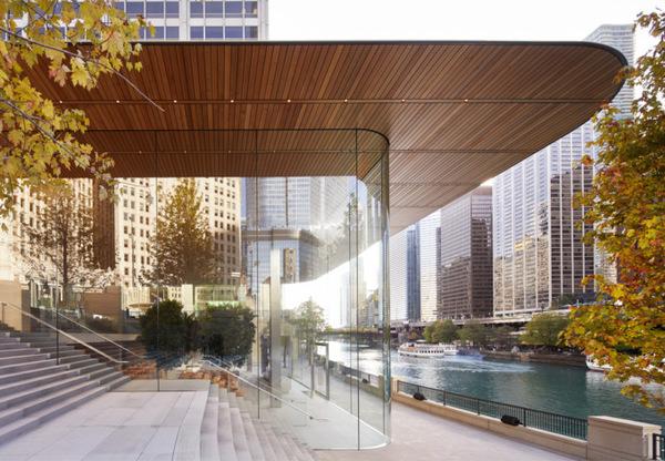 Apple открыла напоминающий Macbook магазин в Чикаго