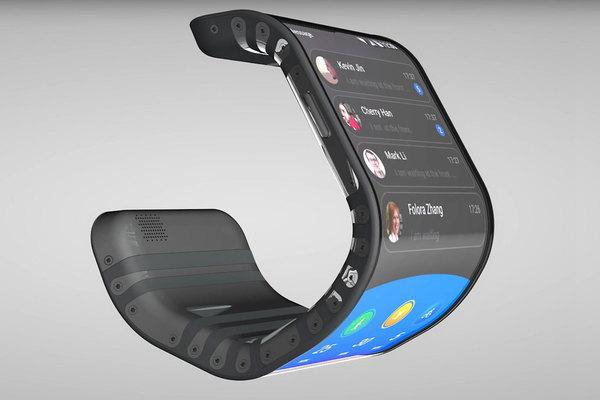 Lenovo продемонстрировала прототипы гибкого смартфона-браслета и гибкого планшета