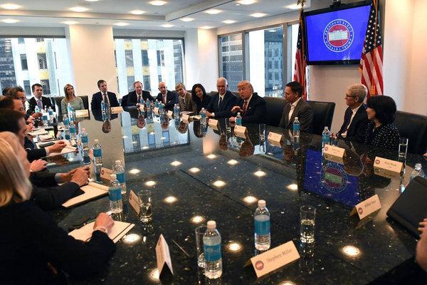 Трамп обсудил с главами ведущих технологических компаний ситуацию на IT-рынке США